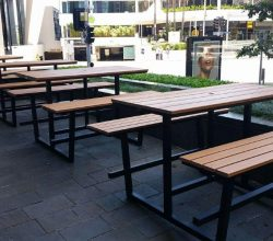 Picnic Highbars- Brisbane - Gold Coast - Dvo Furniture Design